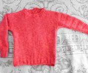 Strikkeopskrifter til børnnemodeller / Strikkeopskrifter til baby- og børnemodeller i bomuld, hør/bomuld og uld.