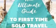 Solo Female Travel / Travel tips and hints for your perfect solo trip.