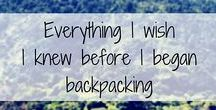 Backpacking / Everything about backbacking
