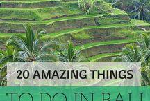 Bali Travel / Amazing beaches, beautiful landscape, friendly people, yummy food - let's go to Bali! | Seminyak | Ubud | Denpasar | Gunung Agung | Gunung Batur | Nusa Lembongan | Lovina