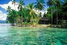 South Pacific / One day I'm going to sail these beautiful islands