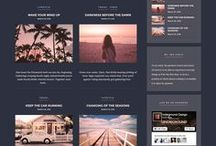 | Theme finden | / Die Suche nach einem passenden Theme für Deine Webseite. Ein spannender Prozess :-) Hier findest Du ein paar Themes die mich begeistert haben. Vielleicht inspiriert oder begeistert Dich ja das ein oder andere. Viel Spaß beim stöbern!