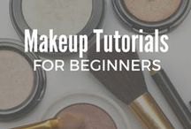 Makeup Tutorials for Beginners / Looking for step-by-step makeup tutorials for beginners? Here we'll feature the latest foundations, eyeshdadows, eyeliner, lipstick, concealer and everday natural tips for teens, blue-eyes, brown-eyes and beauty lovers who are interested in easy and simple makeup tips.