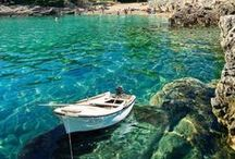 The Mediterranean Sea / Olive oil, islands and coastal towns