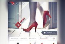 Online stores / Projektowanie sklepów internetowych / Sklepy internetowe wraz z indywidualnym projektem graficznym.