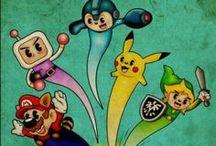 Classic Games / Os games e consoles clássicos da minha vida!