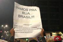 Manifestações no Brasil  / Manifestações  tomam as ruas do país!