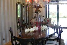 Dining room / Ambientes para disfrutar de los momentos mas beneficiosos del día... #diningroom #decoracion #comedores
