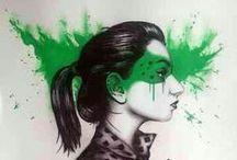 Fin Dac Art / Grafitti Fin Dac