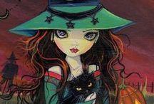Every witch has her cat / Bruxaria, Wicca, gatos, história;