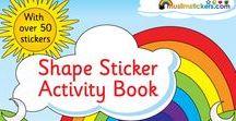 Islamic Books for kids / Unique Islamic books for kids, sticker books and colouring books for kids