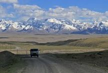 Kyrgyzstan (Kirgisistan) / So much to discover - A truly breathtaking country nestled deep in rugged mountainterrain in Central Asia along the ancient Silk Road. Go here for a 4X4 adrenalinrush or simply enjoy beautiful ever changing scenery, friendly people and time standing still.