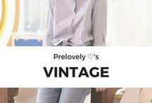 Prelovely loves Vintage / Thrifted, Vintage, and Preloved Clothing