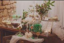 Mesas de dulces/ Tartas