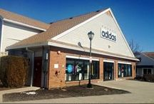 Adidas Outlet Store Woodbury Common / Located in Suite 422 you'll find the Adidas Outlet Store at Woodbury Common, one of the premier sports and fitness shops you'll find anywhere in the Outlets