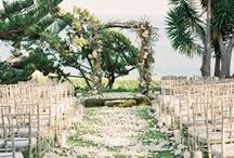 Wedding Ceremony / Wedding Ceremony Aisle Decor, Chuppahs, and Altars!