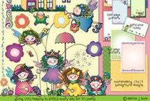 SPRING for Smiles / Spring is for smiles, flowers, St. Patrick's Day, new life, green things, farm fun, Easter, Mother's Day, rainbows and more... / by DJ Inkers