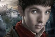 "BBC Merlin / ""In a land of myth, and a time of magic… the destiny of a great kingdom rests on the shoulders of a young boy. His name… Merlin."""