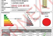 Hızlı-Güvenilir ve UCUZ EKB / Türkiye'nin her yerine 1 günde Enerji Kimlik Belgesi