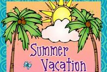 June! / Summer is OFFICIALLY here! Vacations and fun are here.... let the memory making begin! / by DJ Inkers