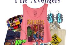 Marvel Style / Everything and anything to express your inner Marvel obsession! Mostly everyday outfits that coordinate with your favorite character.  / by Olivia Cisman