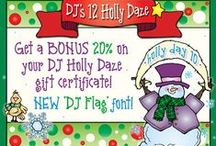 12 Holly Daze 2014!!! / Get ready to celebrate the 'Holly Daze' with DJ Inkers!! Sales and Freebies are available 24 HOURS ONLY! Sign up for our email for the best way to keep updated on the action! / by DJ Inkers