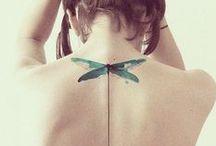Bestechend schön... / Tattoos in sämtlichen Formen und Farben...