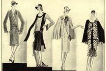 Anni 20 / Abiti scivolati, oro e argento, pioggia di frange, trucco eccessivo e un atteggiamento festoso: sono queste le caratteristiche dello stile anni '20, che le star interpretano a modo loro.