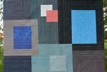 Modern quilt, inspirace / patchwork