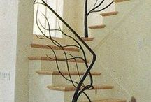 Staircases and railings