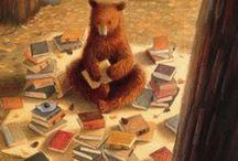 Love for books and reading...