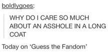 Sherlock / A fangirl board