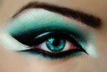 Eyes / Beautiful Eye Make up / by Bob Knight
