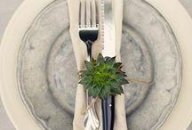 TABLES, TABLES & MORE TABLES  / by Araceli Hernandez