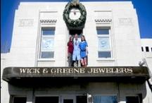 Preferred Jewelers International™- Wick & Greene Jewelers-Asheville, NC / Preferred Jeweler-Wick and Greene Jewelers Offers beautiful diamond jewelry, situated in Asheville, North Carolina. They offer Diamond Engagement Rings, Gemstone, Pearl Rings, custom design jewelry at jewelry stores in Asheville NC. They offer beautiful Designers jewelry Tacori, Kwiat, Ritani etc. http://wickandgreene.com/