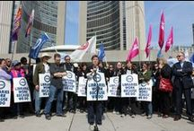 Toronto Public Library Workers Union Local 4948 / The Toronto Public Library Workers Union Local 4948 represent 2300 library workers in the city of Toronto.  We are committed to protecting our public library and its workers and strive to deliver the best public service to the citizens of Toronto.
