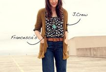 MY STYLE  / My style of clothing and fashion that inspires me.  / by Araceli Hernandez