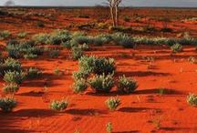 """Australia - The Outback / """"The Outback"""" is the vast, remote, arid area of Australia generally used to refer to locations that are more remote than those named """"the bush"""" which refer to any lands outside the main urban areas. Colloquial terms refer to """"beyond the Black Stump"""", the """"Never-Never"""", """"back of beyond"""" or """"back o' Bourke"""" The main activities are mining and tourism. The population for an area of much of Australia is less than 700,000. A large proportion of Australia's indigenous population lives in the Outback."""