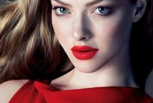 Red lips / Inspiring make up with red lips