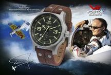 Vostok-Europe for Jurgis Kairys / Vostok-Europe Special Editions for famous Lithuanian pilot, Aerobatics World Champion Jurgis Kairys