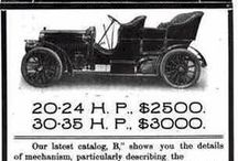 Advertising - Vintage Motor Vehicle / A vintage car is in the most general sense an old automobile, and in the narrower senses of car enthusiasts it is a car from the period of 1919 to 1930. Such enthusiasts have categorization schemes for ages of cars that enforce distinctions between antique cars, vintage cars, classic cars, and so on. Consensus within any country is often maintained by major car clubs. The vintage era in the automotive world started in 1919, and by 1930 automobile production was not matched again until the 1950s