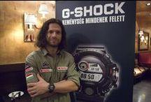 """Hódításra születtek: Klein Dávid a G-SHOCK RANGEMAN nagykövete / Egy sportember, aki a világ tetején feszegeti a határokat és egy folyton kihívásra kész karóra, amely nem ismer lehetetlent. Mi a közös bennük? Az a különleges teljesítőképesség és keménység, amely Klein Dávid hegymászót és a G-SHOCK GW-9400 """"RANGEMAN""""-t egyaránt jellemzi. Hófödte magashegységek, extrém viszonyok: itt érzik igazán jól magukat mindketten, ezért lett Klein Dávid a karóra hazai nagykövete."""