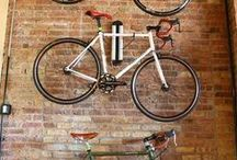 Bike Security At Home / With cycling seeing a massive increase in popularity over recent years, so has bike theft increased.  This board shows some methods of safely securing your bicycle in your garage and some innovative bike storage ideas. #bike #bicycle #bikeStorage #bikeSecurity