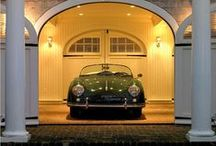Amazing Garages / A selection of garages that I would love to own or people have done amazing things to them.