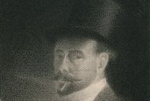 Charles Angrand - Post Impressionist / Charles Théophile Angrand was born in Normandy in 1854. His first visit to Paris was in 1875.  He was denied entry into École des Beaux-Arts and in 1884 co-founded Société des Artistes Indépendants along with Seurat, Signac, Redon and others. He painted with a muted palette and used dots to enhance shadows and tone with paint and charcoal. Later he developed a style with broader brush strokes. He was reclusive for his last 30 years and died in Rouen in 1926.