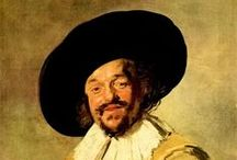 Frans Hals the Elder - Dutch Painter / Frans Hals the Elder was born in 1582 in Antwerp but the family was forced out to move to Haarlem. He worked as a painter and art restorer. He married Anneke Harmensdochter in 1610 but she died during childbirth. He married Lysbeth Reyniers in 1617and they had 8 children. He is best known for his portraits, mainly of wealthy citizens. His work was in demand but he lived so long that he eventually went out of style and experienced financial difficulties. He died in Haarlem in 1666 aged 84.