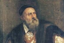 Titian - Italian Renaissance / Tiziano Vecelli (1488-1576 – birth date uncertain) known as Titian was the most important member of the Venetian school. He was one of the most versatile painters and his methods for use of colour exercised a profound influence. He was apprenticed to a painter age 12 and for 60 years was the undisputed master of Venetian painting. For the last 26 years of his life he worked for Philip II of Spain. He died in Venice during the plague in 1576 when he was in his late eighties or maybe nineties.