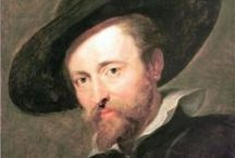 Peter Paul Rubens - Flemish Painter / Peter Paul Rubens was born in Germany in 1577. His parents had fled Antwerp for Cologne due to religious persecution of Protestants. He was a proponent of a Baroque style that emphasised movement, colour and sensuality. He ran a large studio in Antwerp that produced paintings popular with nobility and art collectors throughout Europe. In addition, he was a classically educated scholar and diplomat and was knighted by both Philip IV, King of Spain, and Charles I, King of England. He died in 1840.