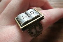 Librarian Book Lover Jewellrey / Pins, Rings, Bracelets, Necklaces, Earrings for book lovers