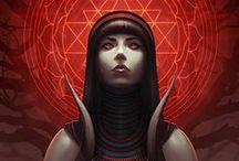 ♒°°• The Goddess in Me •°°♒ / Goddess mother of love and light, lend unto me thy mystical sight. / by ~✿ Christiane Ghanem ✿~